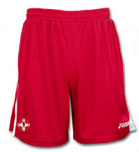 St. Michaels GAC JOMA Tokio Shorts - Red - White